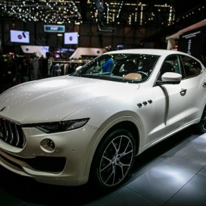 Maserati Levante At Geneva